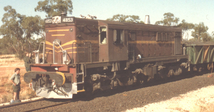 4853 on Port Pirie concentrates train